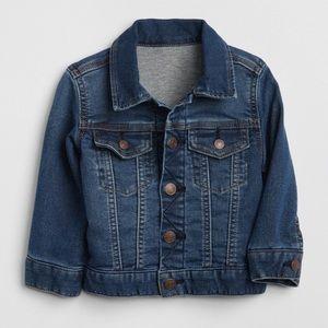 BabyGap Jersey Lined Jean Jacket